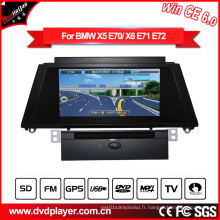 Hla 8825 pour BMW X5 BMW X6 voiture radio GPS DVD Navigation Win Ce 6.0