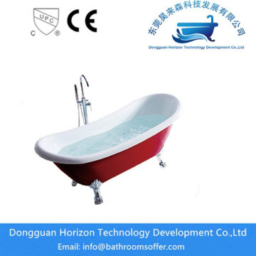 Hydraulic Standing tub bath with shower