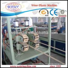 2013 nuevo plástico PVC doble extrusión tubería
