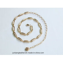 New Fashion Women's Accessories Chunky Gold Cintura Hip Belt Chain