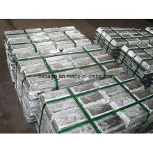 Fuente de la fábrica Lingote de Zinc Alloy Zumak 3/5/8 / zinc