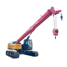 25 ton crawler crane with Retractable chassis