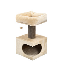 Spring Toy Ball Design Corrugated Paper Can Be Replaced Luxury Scratch Sisal Rope For Cat Tree