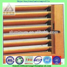 Janelas de cortina de alumínio do preço mais baixo de China