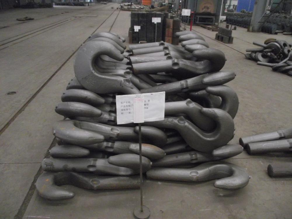 Carbon Steel Hook Forging