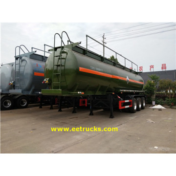 7000 Gallon 27T Hydrochloric Acid Tanker Trailers