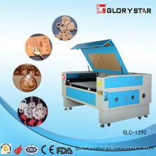Gummi / Wolle Materialien CO2 Laserschneiden und Graviermaschine
