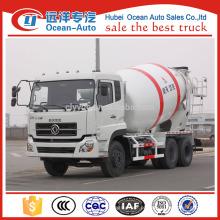 DongFeng marca! 8 metros cúbicos mão esquerda dirigindo caminhão de misturador de concreto para venda