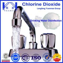 2015 Comprimés à haute dose de dioxyde de chlore effervescents pour traitement de l'eau potable du fournisseur chinois