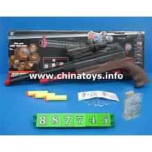Nueva pistola de juguetes de plástico con bala de agua, bala suave (887745)