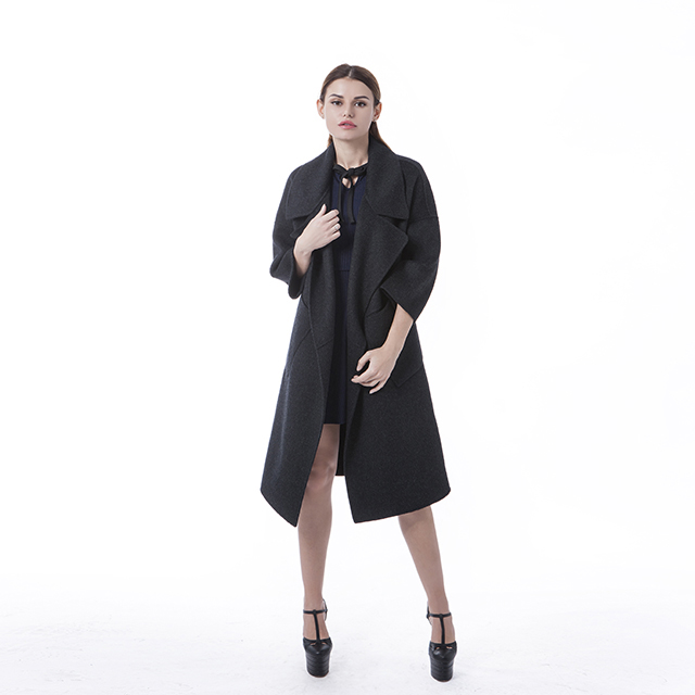 Fashionable Black winter coat