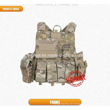 Tactical Bulletproof Weste Beutel Zeitschriften Nij Iiia Hard Plate Pockets