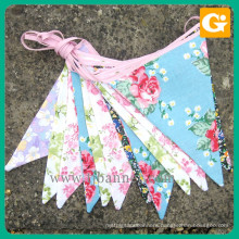 Cheap price beautiful bunting pennant flag banner