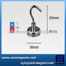 "Imán de gancho de montaje, 16 mm de ancho x 5 mm de grosor (0,63 ""x 0,2"")"