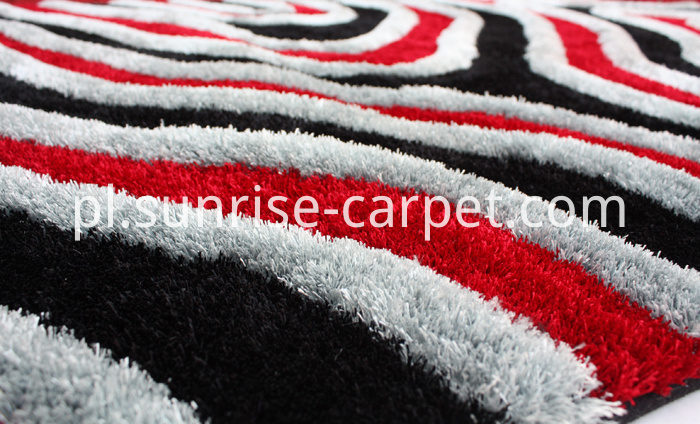 Polyester Thick Yarn Shaggy Rug