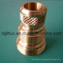 Porca de bronze com SGS, ISO9001: 2008, Rohs