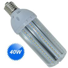 Bombilla E27 de la calle de 40W LED o base de E40 para el reemplazo tradicional del bulbo del halógeno