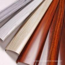Polieren Holz Korn Bau Aluminium Fenster Tür Tür Profil Aluminium Profil