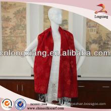 2014 new design plain pashmina shawl for lady
