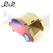 Heiße Verkaufsauto-Formkatze, die Spielzeug und neues entzückendes Katzenhaus CT4046 des Designs verkratzt