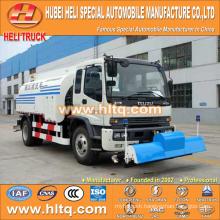 Japan technology FTR 4x2 10000L pipeline flushing truck 190hp engine good quality
