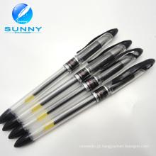 2015 alta qualidade fábrica preço plástico Gel caneta, caneta Gel para artigos de papelaria