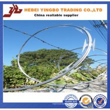 ISO 9001: 2008 Low Price Galvanized Razor Barbed Wire