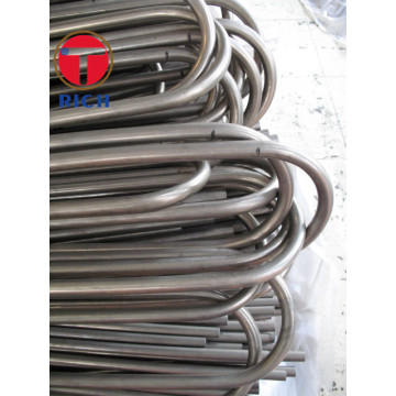 Tembaga Nikel Enhanced Evaporation U 125MPa Alloy Steel Pipe