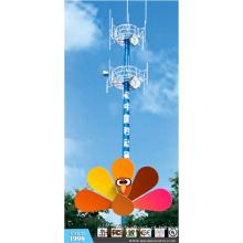 Td-Lte Antenna Comunicação Monopole Tower for Cmcc