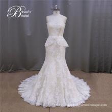Vestidos de noiva Vintage alibaba laço sereia