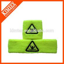 Hot selling cotton custom sweatbands no minimum