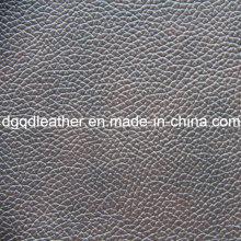 Couro de PVC de mobília de cor de dois tons (QDL-515132)