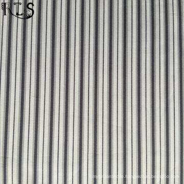 100% Cotton Poplin Woven Yarn Dyed Fabric for Shirts/Dress Rls50-4po
