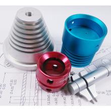 Piezas de mecanizado CNC de aluminio para accesorios de iluminación