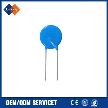 Varistor de óxido de Metal de Zinc de alta calidad poder supresor (MOV)