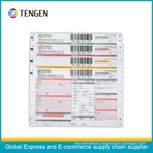 Professionally Printing Courier Logistics Waybill