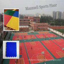 Indoor\Professional Cheap PP Interlocking Sports Flooring for Basketball Court
