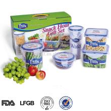 L Leqishi Preis Nahrungsmittelgrad klar Kunststoff Geschenkbox