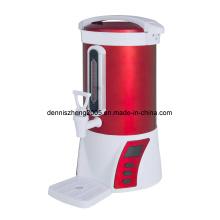 Professionnelle en acier inoxydable isolés urne d'eau chaude. Chaudière à eau chaude et chauffe et distributeur. d'eau réelle capacité: 4,8 L, 6,8 L, 8,8 L, 10 L, 15 L, 18 L, 22 L
