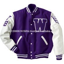 college warm sport fashion varsity jacket for girls boys men women