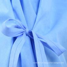 Bata cirúrgica descartável roupas de proteção médica