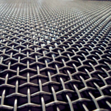 Hot Sale berkualiti tinggi Galvanized Crimped Wire Mesh