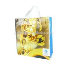 OEM odm portable rpet pp tissé sac à provisions pliable