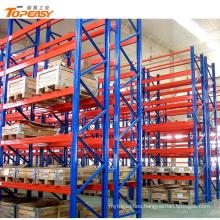 Almacén de servicio pesado almacenamiento en frío palet estantería