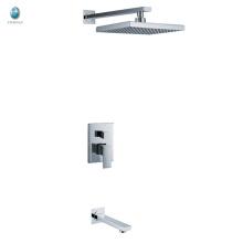 KI-06 nouveau produit carré tête de douche en surface monté salle de bains accessoires caché douche mitigeur