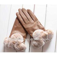 Женские модные женские кожаные перчатки