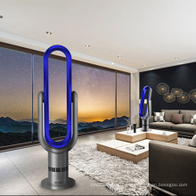 Vento Natural 18 polegada Touch screen ABS Recarregável Torre oscilante bladeless ventilador