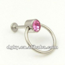 Lip piercing Körper Schmuck Piercing Diamond Labret Ring