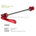 Eixo de bicicleta de liberação rápida Gineyea KM05
