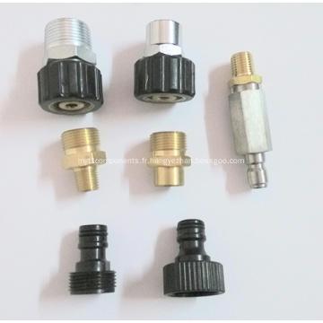 Accouplements en laiton ou en acier inoxydable